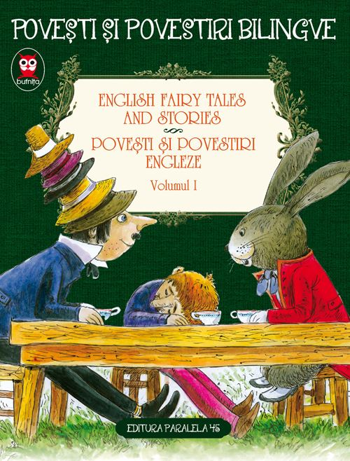 English fairy tales and stories. Povesti si povestiri engleze